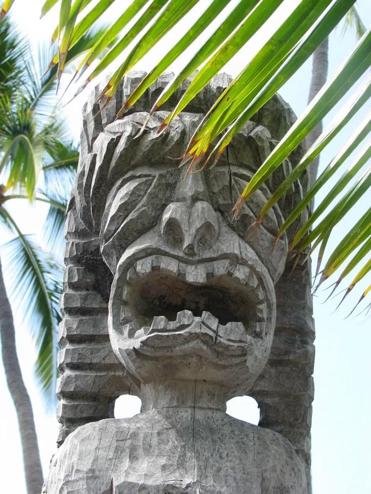 Tiki in Hawaii