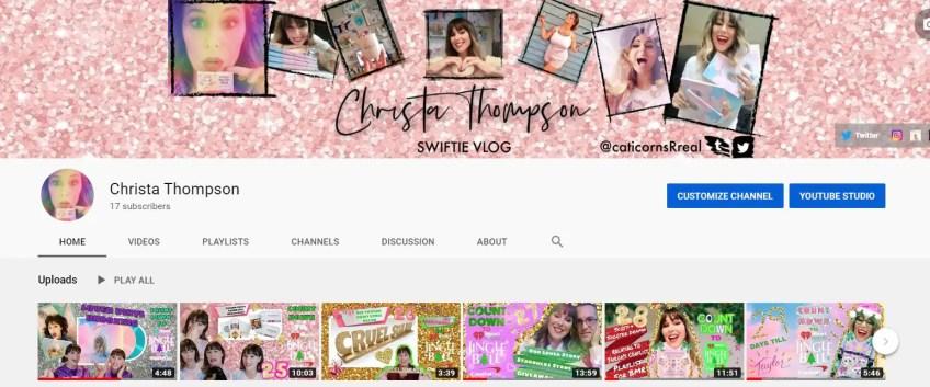 Swiftie Vlog, Christa Thompson, Taylor Swift