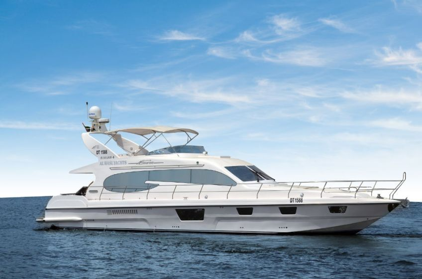 Visit Dubai rent private yacht