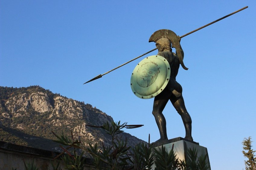 Statue of a Spartan Soldier, The 300
