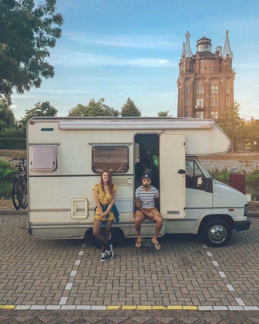 life in a van, rv, camper campervan or motorhome