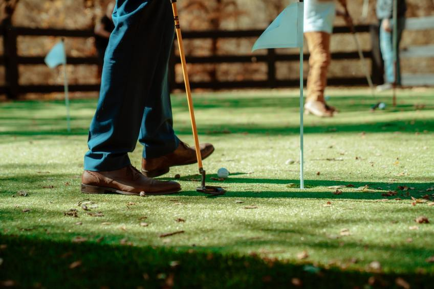 putting, golf