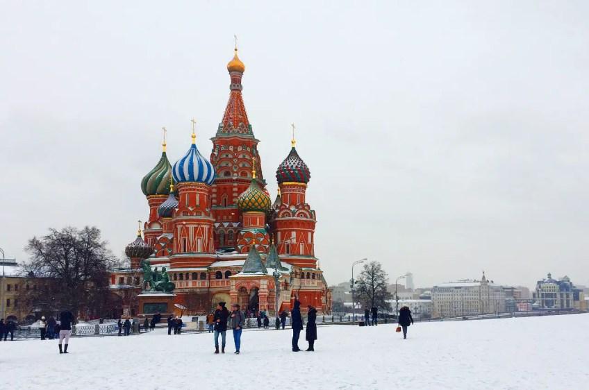 russian church, snow, winter