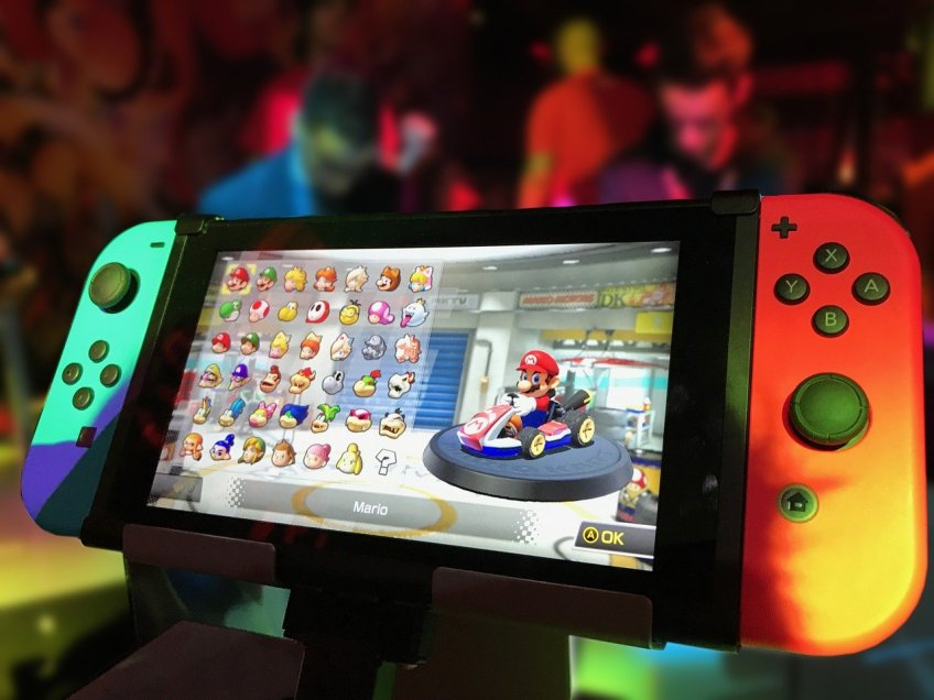 Mario kart on nintendo-switch