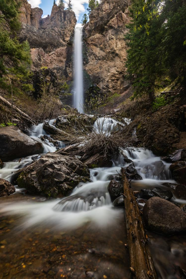 treasure falls, pagosa springs, colorado
