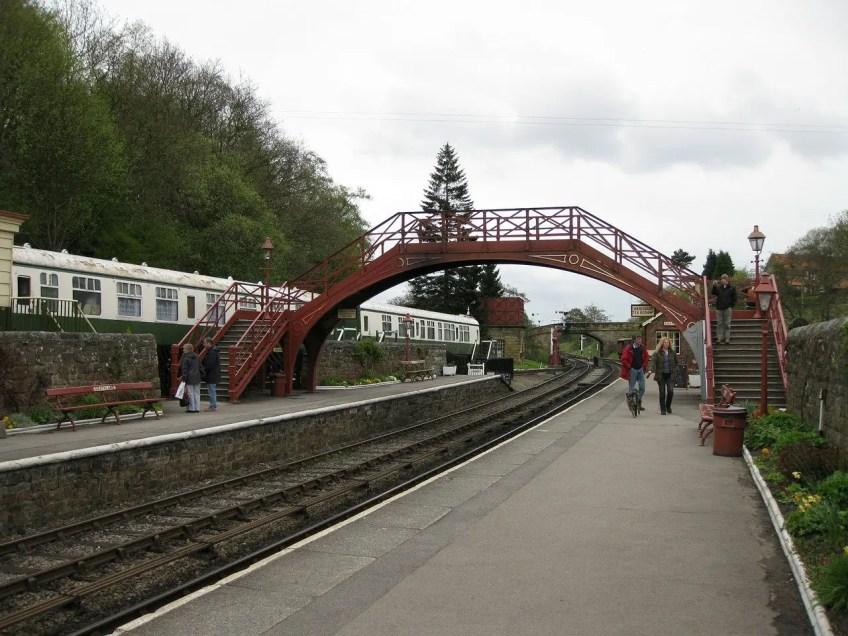 HOGSMEADE station, Goathland Station, silver screen staycation