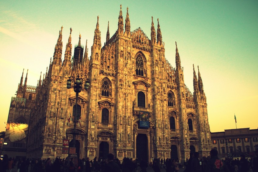amazing real life locations, milan, italy