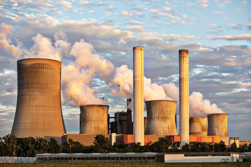 Places for scientists and environmental researchers, nuclear reactor, nuclear power