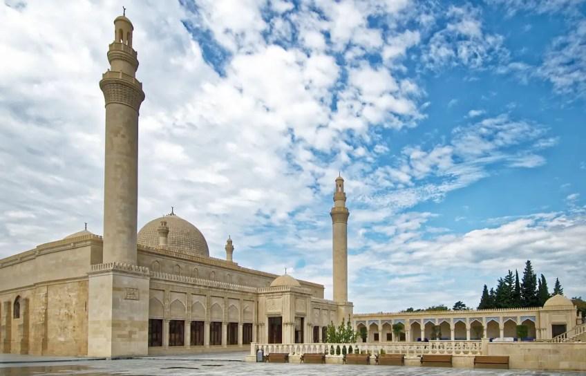 Azerbaijan Shamakhy It Juma Mosque Minarets