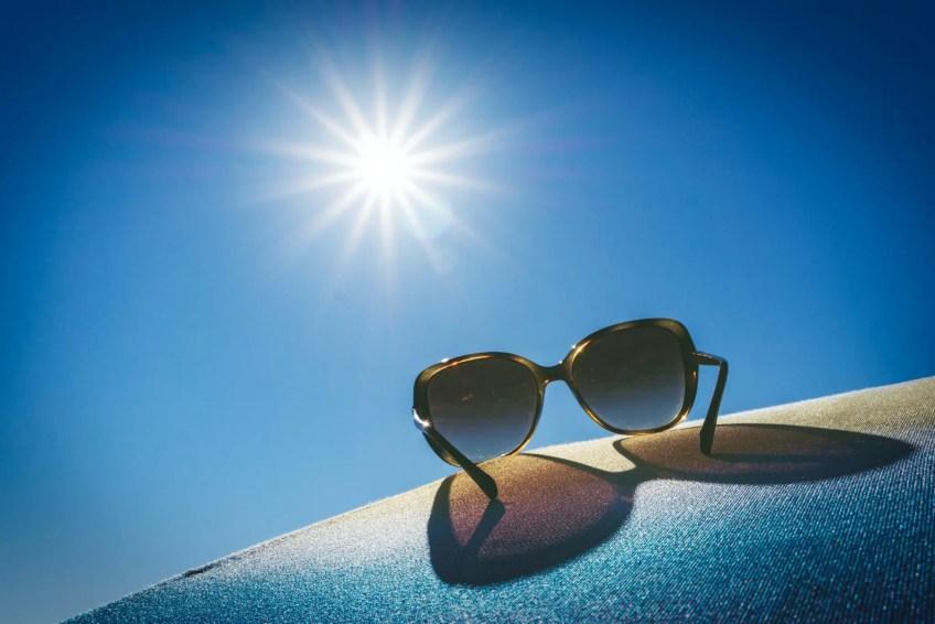 sunglasses in the sun