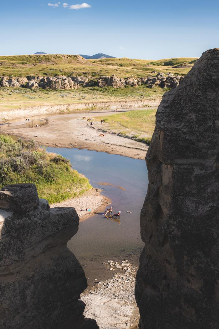 Canada Writing-on-Stone Provincial Park