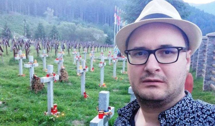 Dan Tanasă az úz-völgyi temetőben