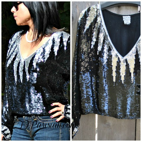 Collage blouse 1