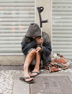 homeless photography martijn crowe