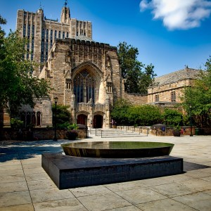 Yale university looks so peaceful in this image. You'd never imagine the drama of the Yale Halloween Scandal, to look at it.