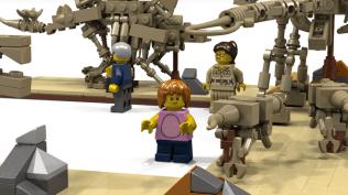 LEGO Ideas Fossil Museum
