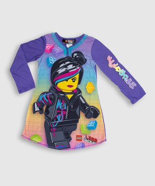LEGO Movie Wyldstyle Long Sleeve Nightgown