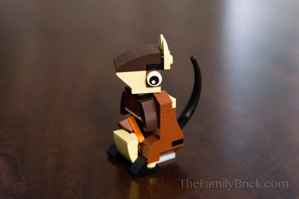 August 2015 LEGO Monthly Mini Build Kangaroo