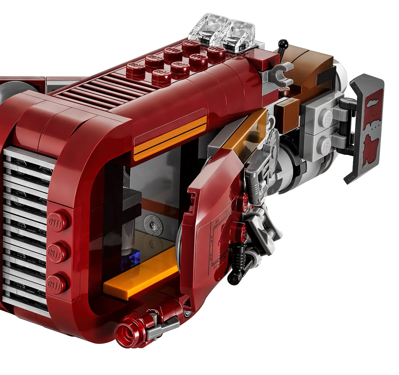 Lego Star Wars Reys Speeder 75099 8 The Family Brick