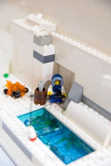 Our LEGO Winter Village MOC-0494