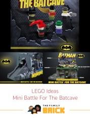 LEGO Ideas Mini Battle for the Batcave
