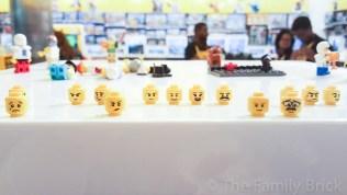 LEGO Build A Minifigure Bar - Faces (Backside) - January 2016
