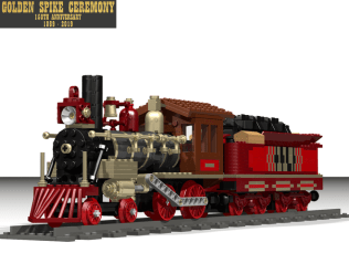 LEGO Ideas Golden Spike Ceremony