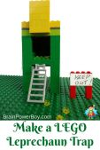 Leprechaun Trap LEGO Designs on Brain Power Boy