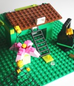 LEGO Leprechaun Trap St. Patrick's Day Building Challenge on Little Bins for Little Hands