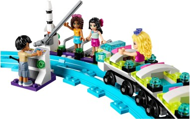 LEGO Friends Amusement Park Roller Coaster - 15
