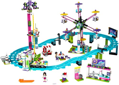 LEGO Friends Amusement Park Roller Coaster - 22