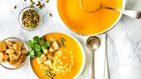 Butternut Soup homeade