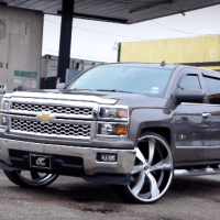Amani Forged Wheels - Chevy Silverado on Amani Forged Vorenzo's (A to B)
