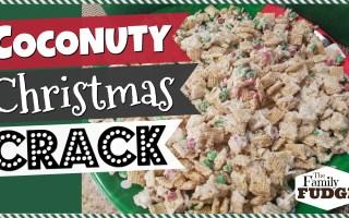 COCONUTTY CHRISTMAS CRACK    Quick + Easy + ADDICTING!