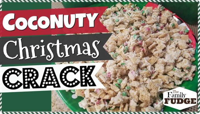 COCONUTTY CHRISTMAS CRACK || Quick + Easy + ADDICTING!