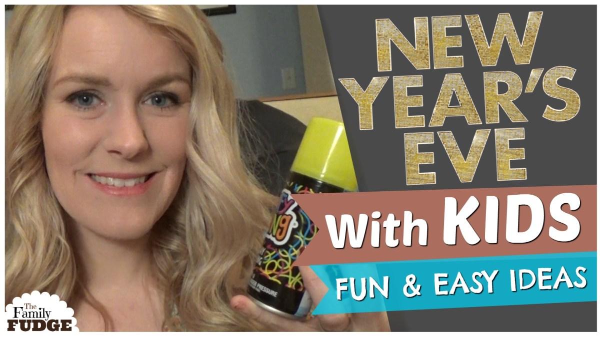 Fun & Easy New Years Kids Activities