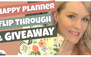 18 Month – Happy Planner 2017 Giveaway