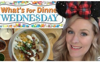 LOADED BAKED POTATO SOUP || Copycat Disneyland Recipe || What's for Dinner Wednesday