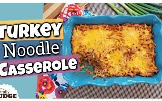 Turkey Noodle Casserole Recipe || Classic Family Dinner Recipe