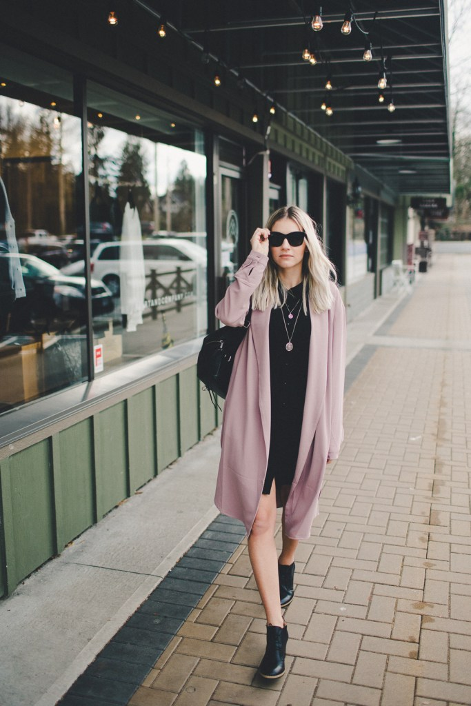 Gentle Fawn Duster Coat at Bella & Wren