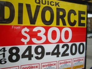 Quick Divorce by fortinbras at Flickr