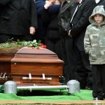 Funeral compliments of The Associate Press