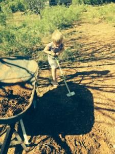 Cora Digging