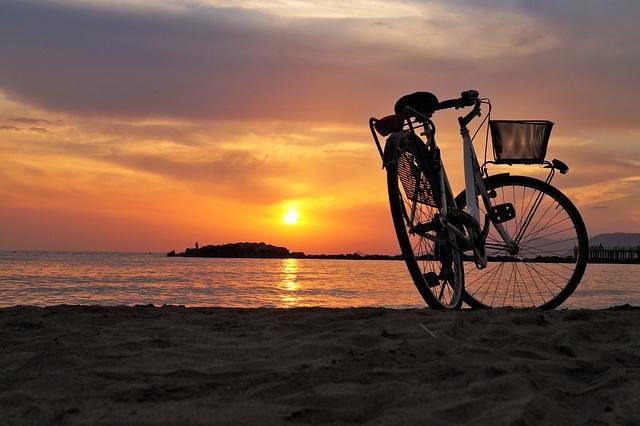 beach -bike