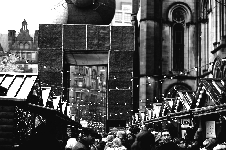 Visiting Manchester Christmas Market with kids - The Family