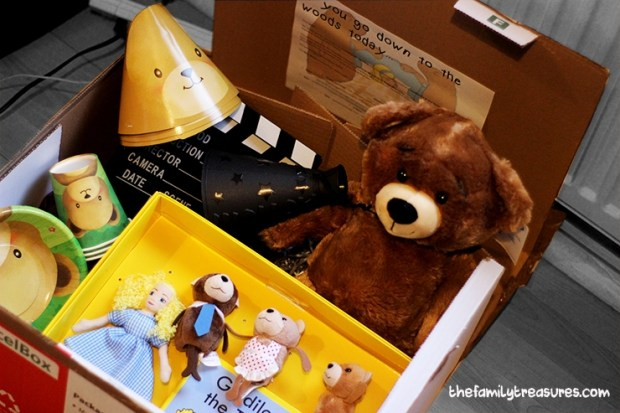 picnic box goldilocks and the three bears