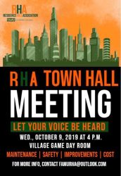 Residents speak out at RHA town hall meeting The Famuan