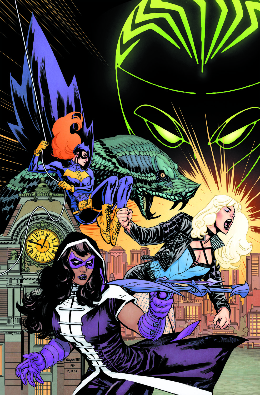 Batgirl and the Birds of Prey # 1 cover