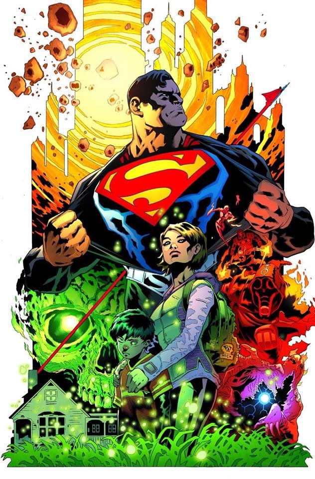 superman patrick gleason cover