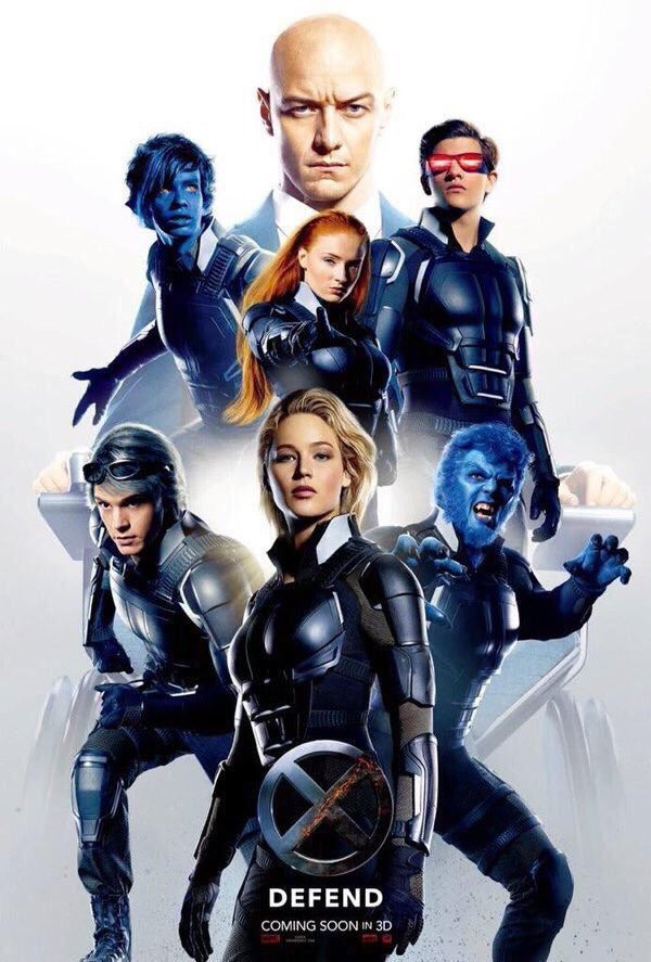 x-men apocalypse defend poster